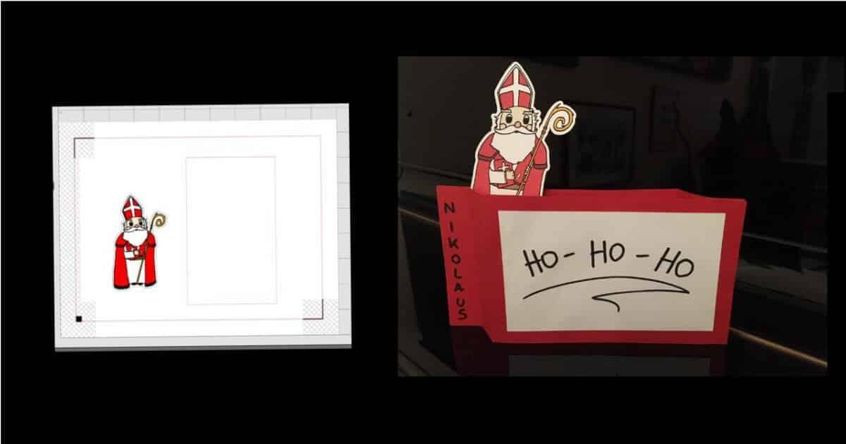Der Heilige Nikolaus steht vor der Tür...